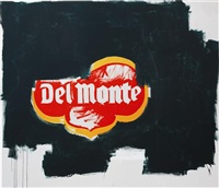 del monte by jean-michel basquiat and andy warhol