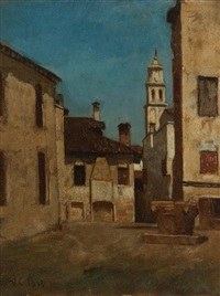 le puits du village by vincenzo cabianca