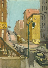 city street by fairfield porter