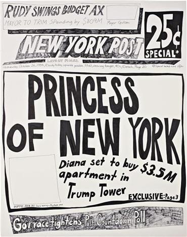 princess of new york (26 october 1994) by aleksandra mir