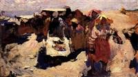 le marché ukrainien by vassili arapov