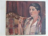 portrait présumé de la soeur de l'artiste by paul poiret