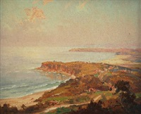 view of the northern beaches by john allcott