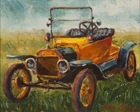yellow model t ford motor co dearborn michigan by ben abril