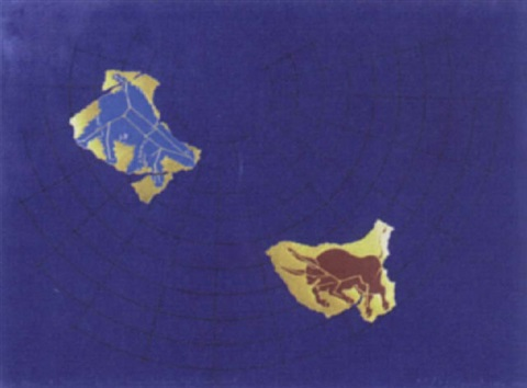 ursa major and taurus pavillion fragments from the starry vault by general idea