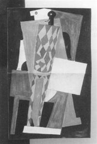 composition cubiste d'après picasso by ivan vasilievich klyun