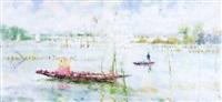 barque à huîtres by daniel du janerand