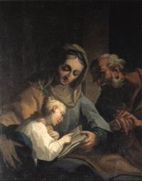 die unterweisung mariens by bartholomäus altomonte