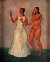 dos mujeres bailando by emilio rosenblueth