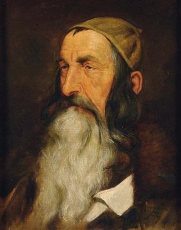 portrait dun juif du caucase by max sandor