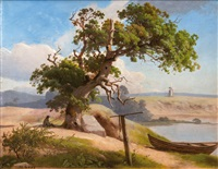 the old oak by heinrich buntzen