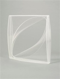linear construction in space no. 1 by naum gabo