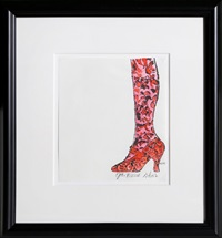 gee, merrie shoes by andy warhol
