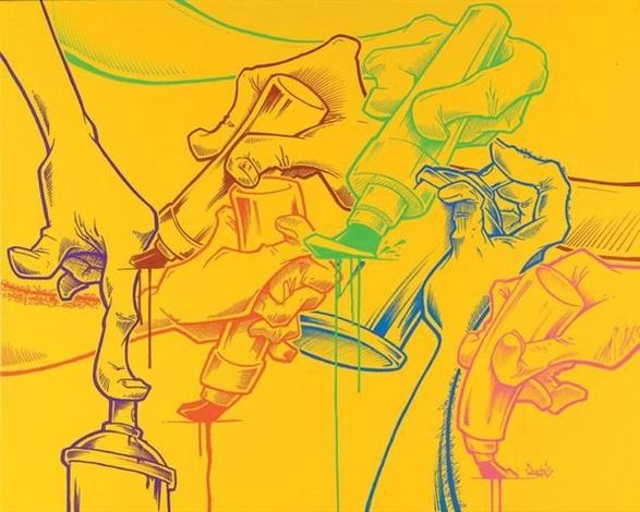 mains jaunes by jazi