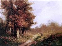 paysage d'automne by edma morisot