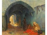 constantine: le marchand d'oranges by louis françois cabanes