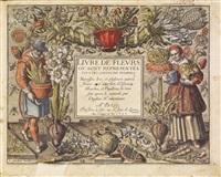 livre de fleurs (suite of 26) by françois (f.l.d. ciartres) langlois
