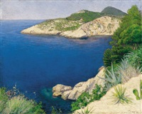 mediterrán tengerpart (mediterranean seaside) by péter rátz