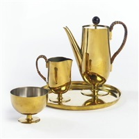 coffee set (set of 4) by josef hillerbrand