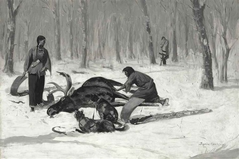 the passion of ah we ah by frederic remington