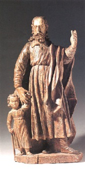 group of saint roch and the beggar by portuguese school (17)