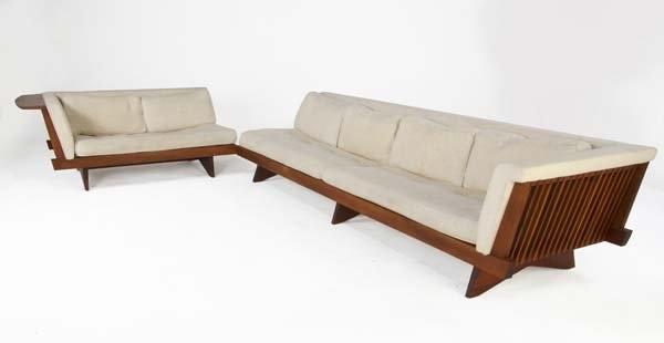 Single Arm Sofa And Settee By George Nakashima