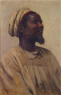 portrait de nubien by franz xavier kosler