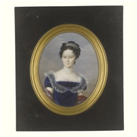 portrait of a lady by natale schiavoni