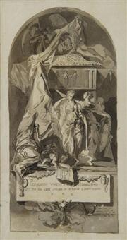 sarcófago conmemorativo de leonardo da vinci by luis alcázar y paret
