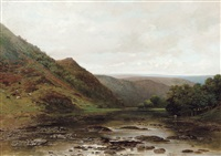 paysage fluvial by jean francois xavier roffiaen