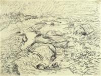 bewegter strand by otto niemeyer-holstein