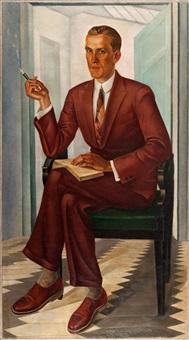 portret pana p. m. by gustaw pilecki