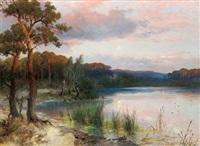 seelandschaft by heinrich hiller