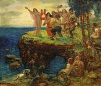 scène symboliste by alexander frenz