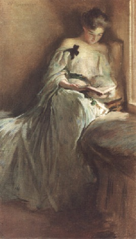A Quiet Corner By John White Alexander On Artnet