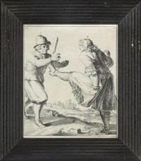 the art of self-defence by romeyn de hooghe