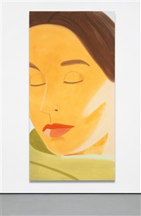 eyes closed 2 by alex katz
