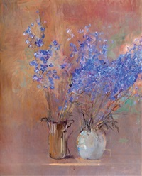 flowers in vases by ofer lellouche