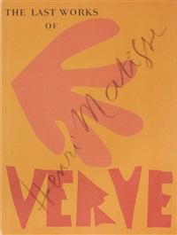 verve: volume ix, nos 35 & 36. dernières oeuvres de matisse 1950-54 2 by henri matisse