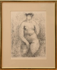 untitled (figure) by marino marini