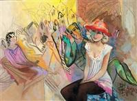 kırmızı şapkalı kadın by mustafa ayaz