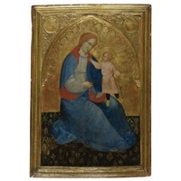 the madonna and child (madonna of humility) by jacobello del fiore