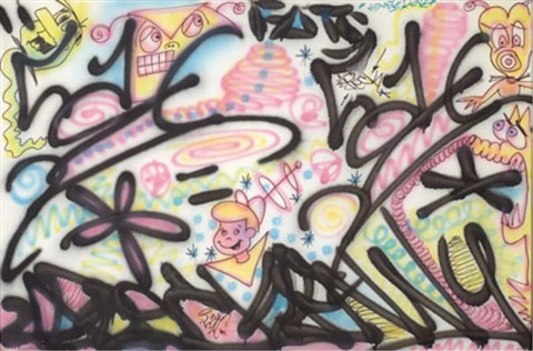jetsons graffiti by kenny scharf