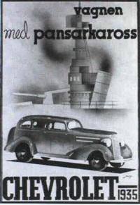 projet de maquette publicitaire sur chevrolet by jurgen von konow
