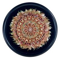 bronze disk by joe brainard