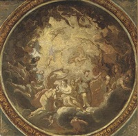 allegory of peace - study for a ceiling by antonio verrio