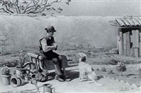 jardinier et son chien by louis-lina bill