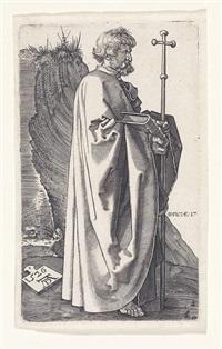 hl. philip (after albrecht dürer) by hieronymus wierix