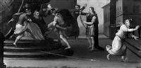 david et saül by giovanni (il cosci) balducci