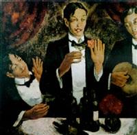 les trois amis by theodore verschaeren